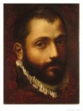 Self Portrait, 1570-75 Giclee Print by Federico Fiori Barocci or Baroccio