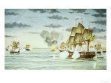 The Battle of Quilmes During the Cisplatine War Giclee Print by J. Raison