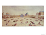 Polo at Isfahan Giclee Print