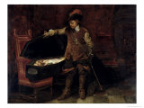 Oliver Cromwell Giclee Print by Hippolyte Delaroche