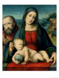 The Holy Family Giclee Print by Francesco Francia