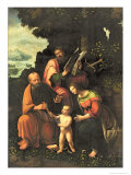 The Virgin and Child with Ss. Peter and Paul Giclee Print by Gian Giacomo Caprotti