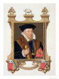 Portrait of Sir Nicholas Bacon Giclee Print by Sarah Countess Of Essex