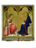 The Annunciation, 1344 Giclee Print by Ambrogio Lorenzetti