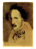 Portrait of Gaetano Donizetti Giclee Print by Gerolamo, Induno