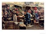 The Meal, 1875 Giclee Print by Vladimir Egorovic Makovsky