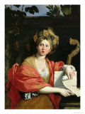 The Cumean Sibyl, 1616 Giclee Print by Domenichino