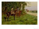 The Highwaymen Giclee Print by George Derville Rowlandson