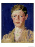 Head of a Young Man Giclee Print by Francis Campbell Boileau Cadell