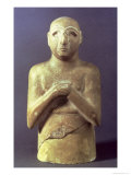 Statue of the God Utu, Mesopotamian, c.2400 BC Giclee Print by  Mesopotamian