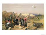 Russian Rifle Pit Giclee Print by William Simpson