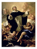 St. Dominic, 1170-1221 Giclee Print by Luca Giordano