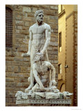 Statue of Hercules and Cacus, 1534 Giclee Print by Baccio Bandinelli
