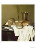 Still Life with a Nautilus Cup Giclee Print by Willem Claesz. Heda