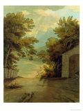 Langdale Pikes Giclee Print by John White Abbott