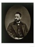 Emile Zola Giclee Print by Etienne Carjat