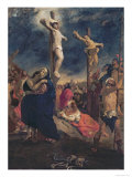 Christ on the Cross, 1835 Giclee Print by Eugene Delacroix