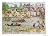 Massacre of Tours, in July 1562 Giclee Print by Franz Hogenberg