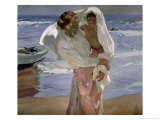 Just Out of the Sea, 1915 Giclee Print by Joaqu&#237;n Sorolla y Bastida