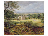 English Landscape with a House Giclee Print by Heywood Hardy