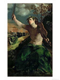 Apollo and Daphne Giclee Print by Dosso Dossi