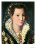 Portrait of a Lady Giclee Print by Alessandro Allori