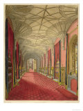 Interior: St. Michael&#39;s Gallery, Aquatint: Wolstenholme Jr, Engraved Leghorn, 1823 Giclee Print by W. Finley