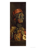 The Cook Gicle-tryk af Giuseppe Arcimboldo