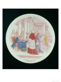 Plate Depicting the Abolition of Privileges, 4th August 1789, Sarreguemines, 1889 Giclee Print by Paul Utzschneider