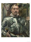 Self Portrait in Armour, 1914 Giclee Print by Lovis Corinth