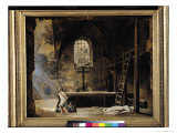 Inquisition Scene Giclee Print by Francois-Marius Granet