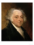 Portrait of John Adams Giclee Print by Gilbert Stuart