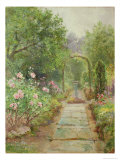 The Garden Path Giclee Print by Ernest Walbourn