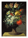 Still Life with Flowers, 1764 Reproduction proc&#233;d&#233; gicl&#233;e par Jens Juel