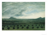 View from Mirabella, c.1782 Giclee Print by John Robert Cozens