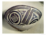 Bowl Decorated with a Geometric Pattern, Style I, from Susa, Iran, 3100-3000 BC Giclee Print by Mesopotamian