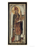 Votive Panel Depicting St. Ansgar, 1457 Giclee Print by Hans Bornemann