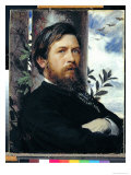 Self Portrait, 1873 Giclee Print by Arnold Bocklin