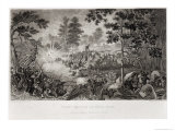 The First Battle of Bull Run, 21st July 1861, Engraved by J.C. Mcrae Giclee Print by William Momberger