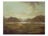 View of the Lakes and Mountains of Killarney, Ireland Giclee Print by Jonathan Fisher