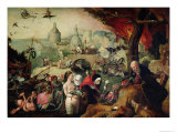 The Temptation of St. Anthony, 1547 Giclee Print by Pieter Huys