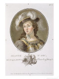 Portrait of Joan of Arc Giclee Print by Antoine Louis Francois Sergent-marceau