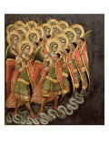 The Heavenly Militia, c.1348-54 Giclee Print by Ridolfo di Arpo Guariento
