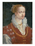 Portrait of Bianca Cappello Giclee Print by Alessandro Allori