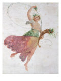 Young Dancer with a Cornucopia and a Bunch of Grapes Giclee Print by Carlo Bevilacqua