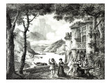 Act III of Le Chateau de Loch-Leven, by Pixerecourt, Theatre de La Gaite, 3rd December 1822 Giclee Print by Julien-michel Gue