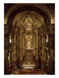 View of the Chapel and High Altar Giclee Print by Jose Francesco Guerrero