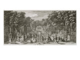 L'Arc de Triomphe, Versailles Giclee Print by Jacques Rigaud