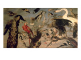 The Bird's Concert Giclee Print by Frans Snyders Or Snijders