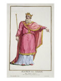 Alfred the Great Giclee Print by Pierre Duflos